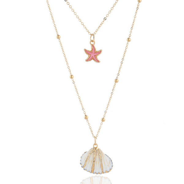 Gold Seashell Necklace - Multiple Options