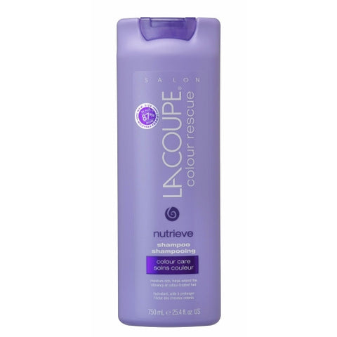 LaCoupe COLOUR RESCUE NUTRIEVE SHAMPOO - Case of 6|SHAMPOOING NUTRIEVE COLOUR RESCUE - Caisse de 6