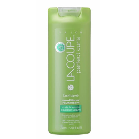 LaCoupe PERFECT CURLS BEHAVE CONDITIONER - Case of 6|REVITALISANT BEHAVE PERFECT CURLS - Caisse de 6