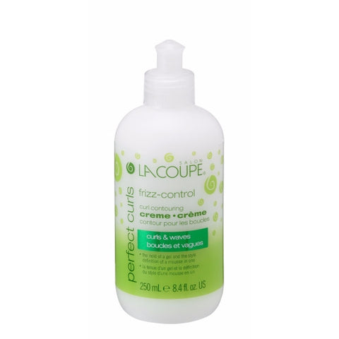 LaCoupe PERFECT CURLS FRIZZ-CONTROL CREAM - Case of 6|CRÈME FRIZZ-CONTROL PERFECT CURLS - Caisse de 6