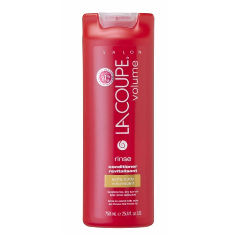 LaCoupe VOLUME RINSE CONDITIONER - Case of 6|REVITALISANT RINSE VOLUME - Caisse de 6