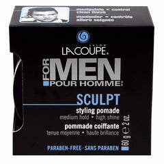 LaCoupe for Men SCULPT STYLING POMADE - Case of 6|POMMADE COIFFANTE SCULPT - Caisse de 6
