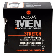 LaCoupe for Men STRETCH PLIABLE FIBRE PUTTY - Case of 6|MASTIC FIBREUX PLIABLE STRETCH - Caisse de 6