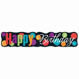 Classic Birthday Party Jointed Banner 4.5 ft