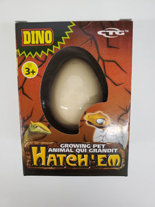 Hatch'em Growing Dino Egg
