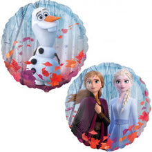 "Load image into Gallery viewer, Disney Frozen 2 Foil Balloon 18"" Packaged"