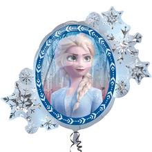 Load image into Gallery viewer, Disney Frozen 2 Supershape Foil Balloon Packaged