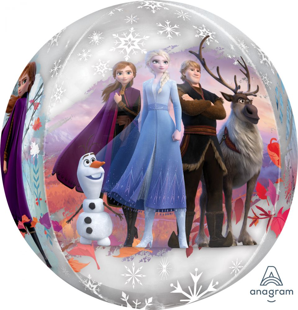Disney Frozen 2 Orbz Balloon Packaged