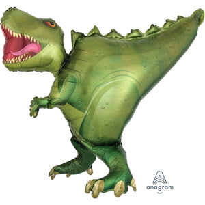 T-Rex Dinosaur Birthday Party Supershape Foil Balloon