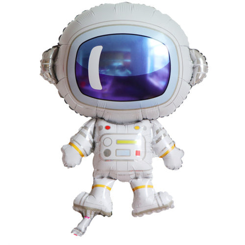 Space Birthday Party Supershape Foil Balloon - Astronaut
