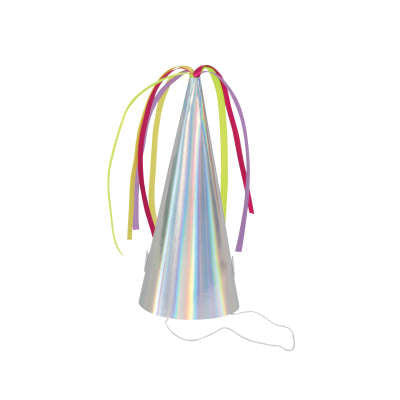Unicorn Horn Party Hats 8ct