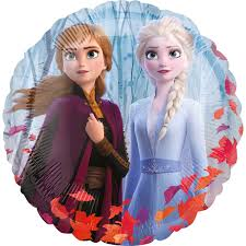 "Disney Frozen 2 Foil Balloon 18"" Packaged"