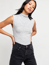 Load image into Gallery viewer, Free People Heather Grey Babetown Tee