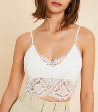 Load image into Gallery viewer, Ivory Lace Bralette