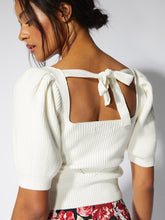 Load image into Gallery viewer, MinkPink Off White Valerie Knit Top