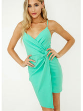 Load image into Gallery viewer, Mint Side Knot Dress