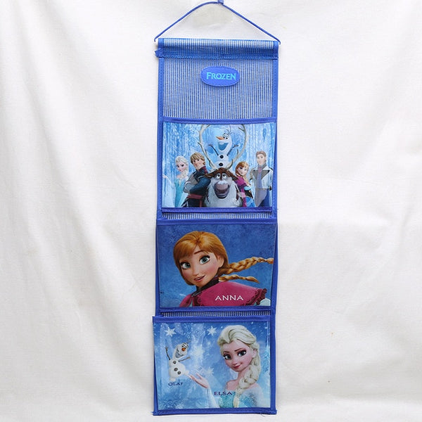 Disney Princess Kids Plush Backpack Hanging Storage Bag Frozen  Small Closet Storage Pocket Sorting Bag