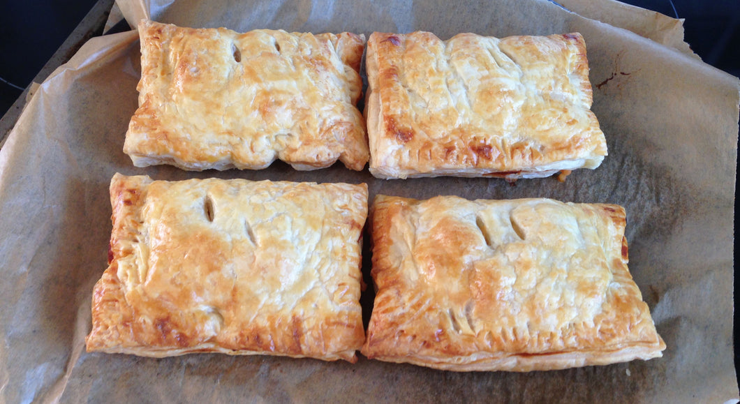 6 X Steak & Stilton Pasty's