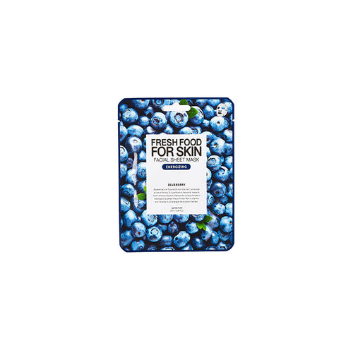 Fresh Food for Skin Facial Sheet Mask Buleberry - Dareena