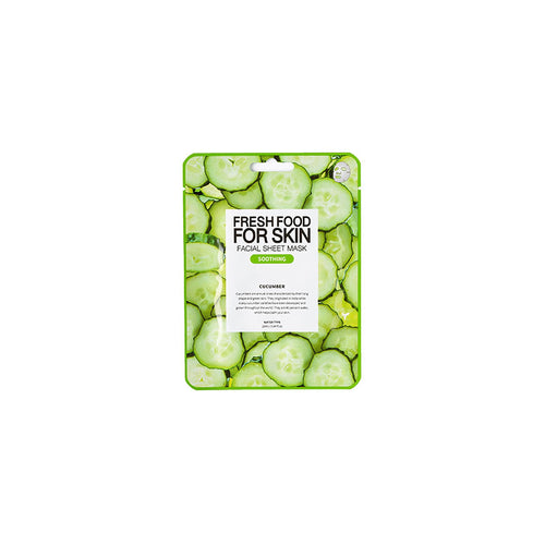 Fresh Food for Skin Facial Sheet Mask Cucumber - Dareena