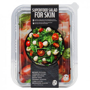 Superfood Salad Facial Sheet Mask Set Tomato 7PCS - Dareena
