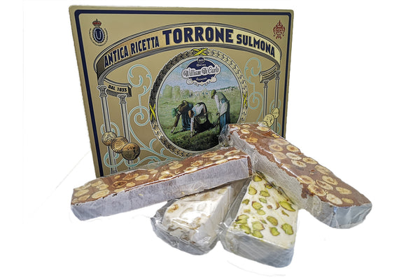 Scatola Latta Torroni Assortiti | 400g - I.R.C. William Di Carlo Srl