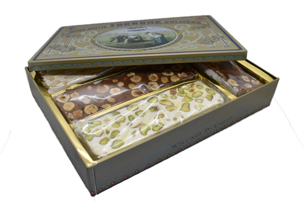 Scatola Latta Torroni Assortiti | 400g - williamdicarlo