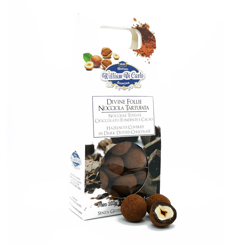 Divine Follie - Nocciole Tartufate | 100g - williamdicarlo