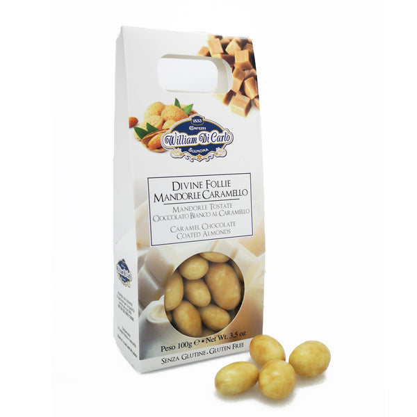 Divine Follie - Mandorle al Caramello | 100g - williamdicarlo