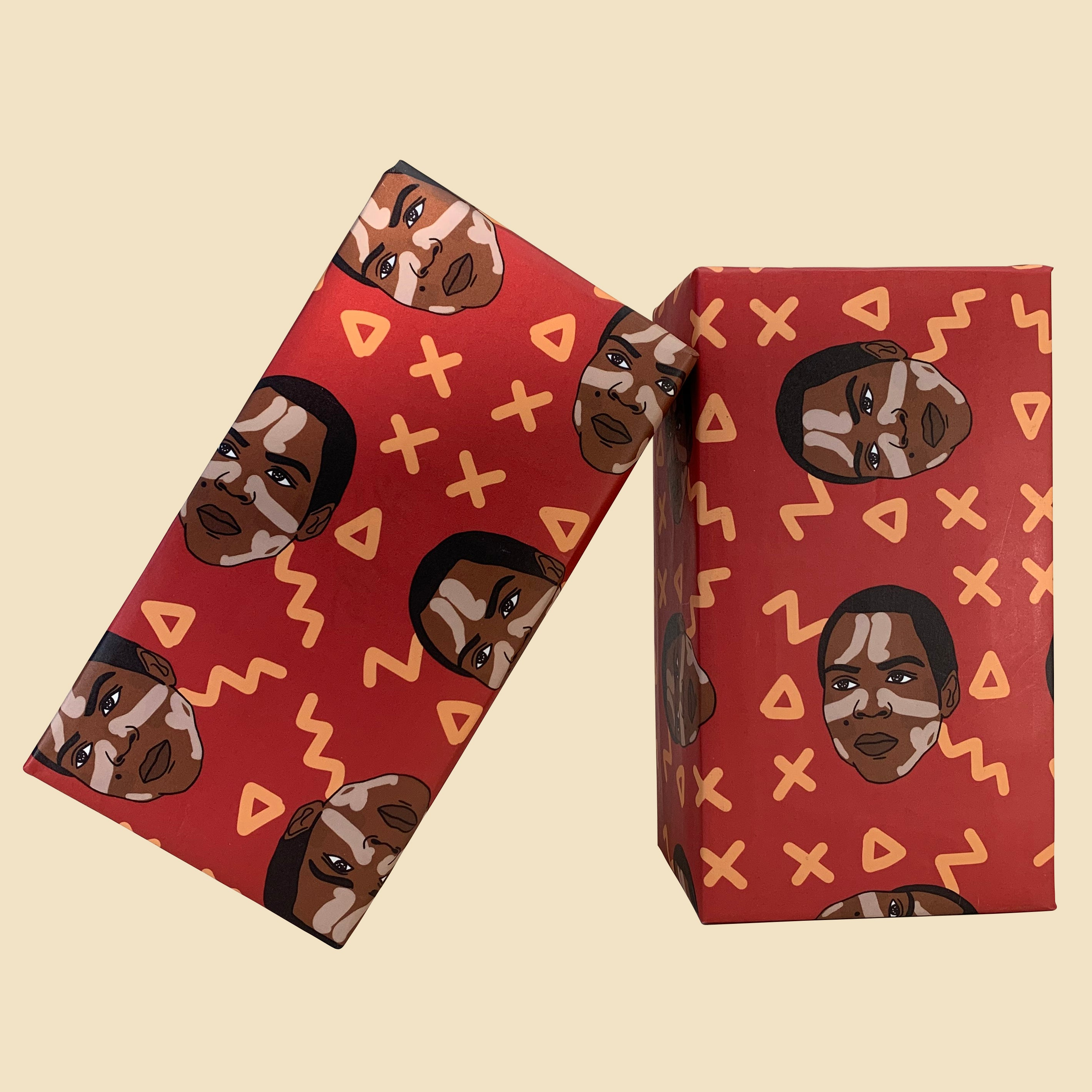 Burna Boy Wrapping Paper