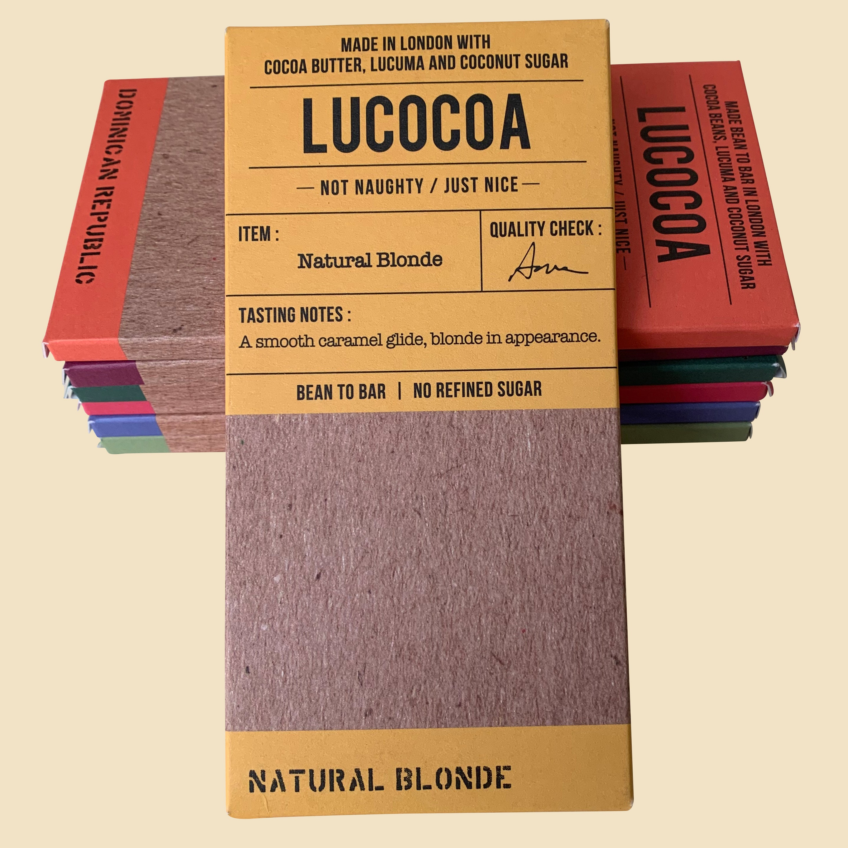 Natural Blonde White Chocolate 40% cocoa