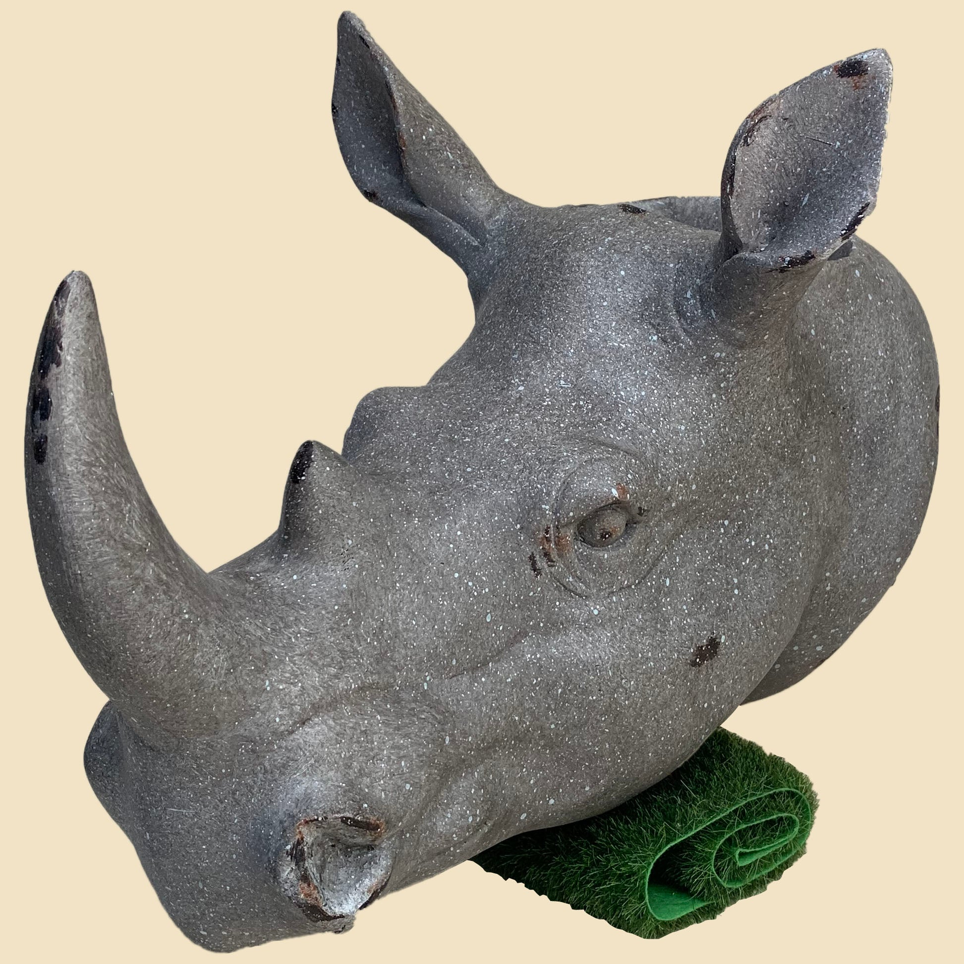 Omari the Rhino wall planter