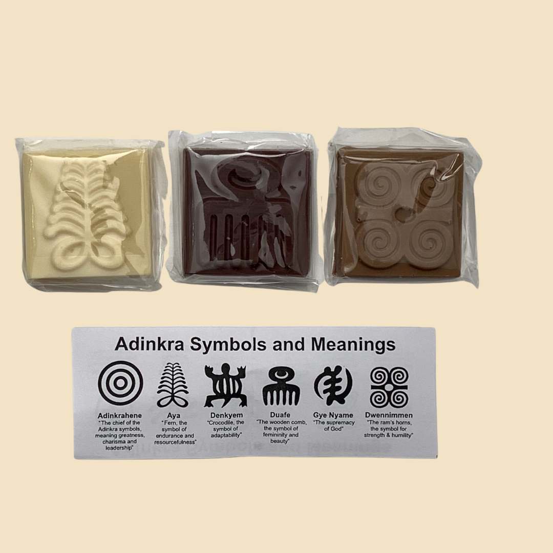 '57 Adinkra chocolate box