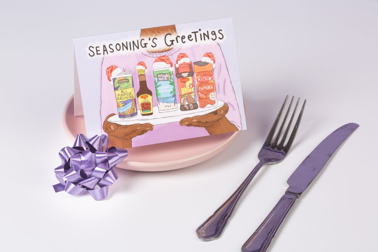 Seasoning's Greetings card