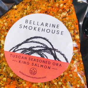 Bellarine Smoke House Tuscan King Salmon