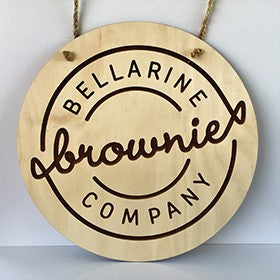 Bellarine Brownies - Triple Chocolate