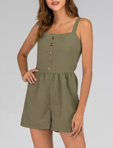 Green Gathered Spaghetti Solid Holiday One-Pieces