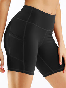 Yoga Sheath Solid Shorts
