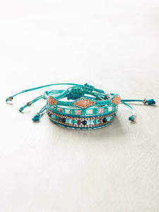 3Pcs Adjustable Boho Bracelets