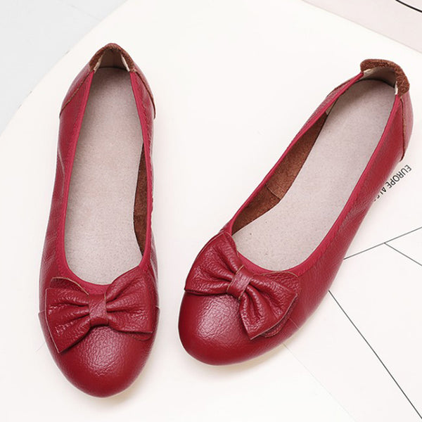 Summer Holiday Round Toe Flat Heel Casual Shoes