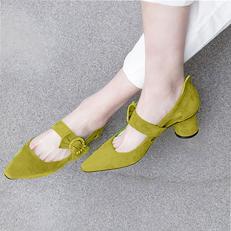 Elegant Genuine Leather Spring/fall Shoes