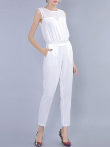 Solid Shift Casual Top with Pants Set