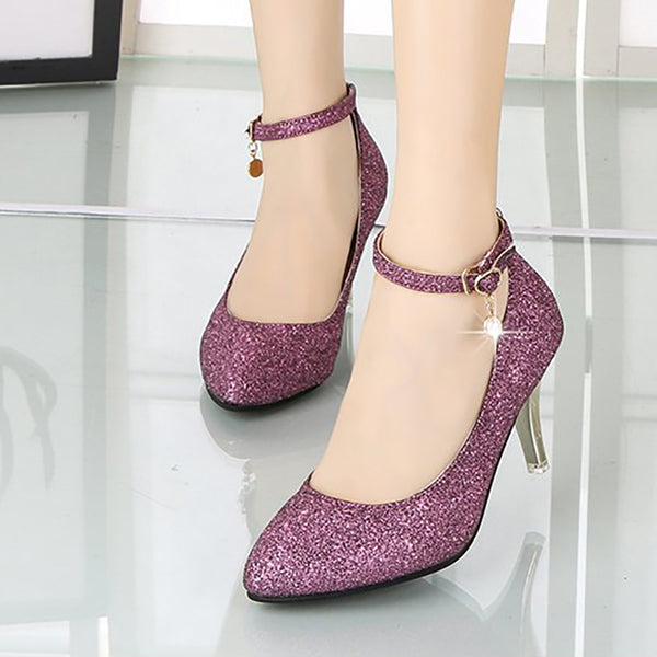 Party & Evening Stiletto Heel Leather Heels