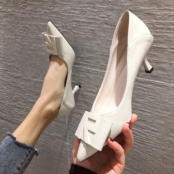 Stiletto Heel Pointed Toe Elegant Pumps