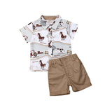 Horse | Boys | 2-Piece | Set - Tods Bay