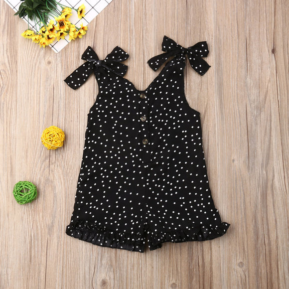 Dress | Polka Dot | Girls | Sleeveless - Tods Bay
