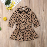 Toddler | Dress | Leopard - Tods Bay