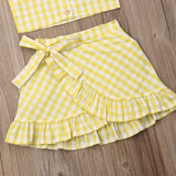 Summer | 2-Piece | Set | Toddler | Yellow - Tods Bay