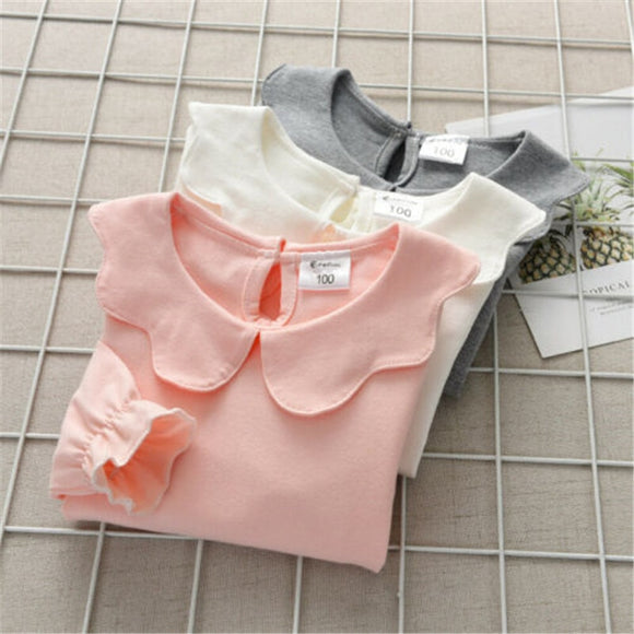 BowKnot Cotton Top Girl Sleeve