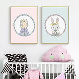 Cute | Bunny | Nursery | Art | Canva